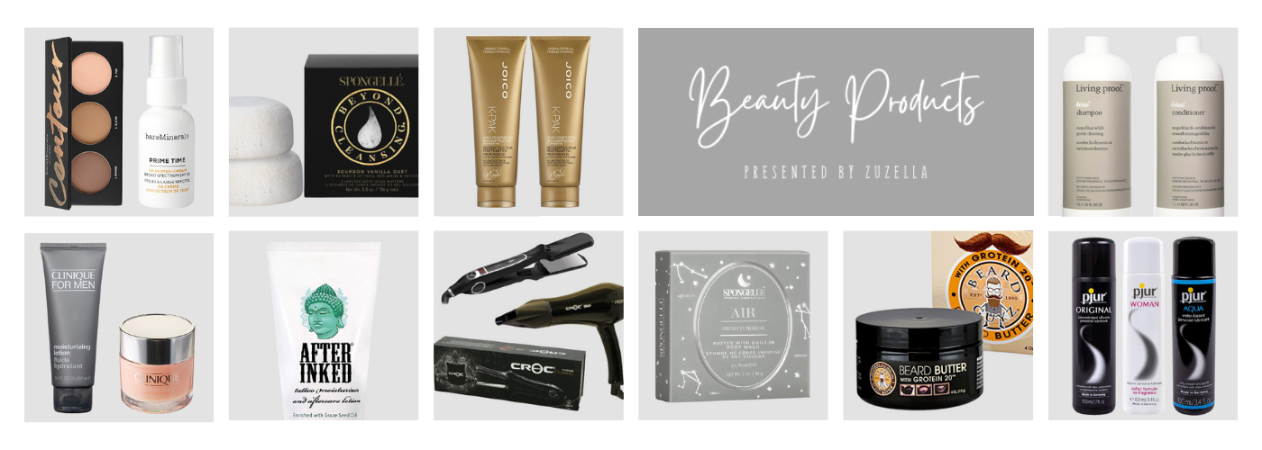 Beauty Products Banner _ Presented Script